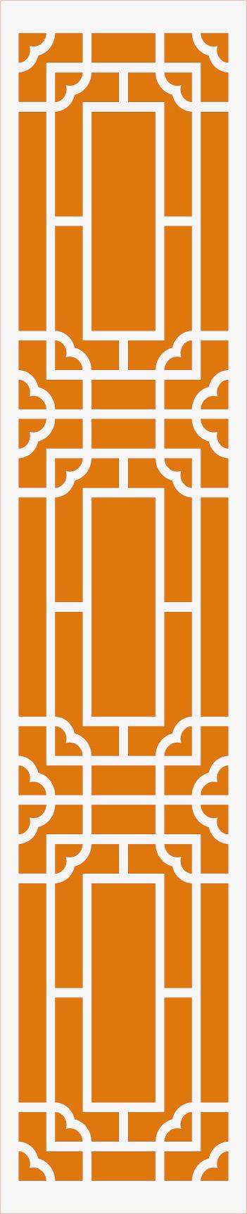 黄色的古典古风窗棂png素材下载_高清图片png格式(:)