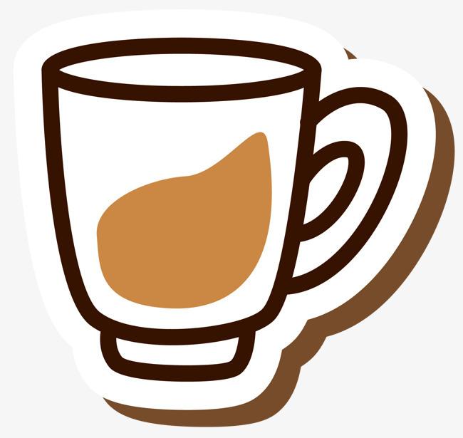 咖啡色奶茶马克杯png素材下载_高清图片png格式(编号图片