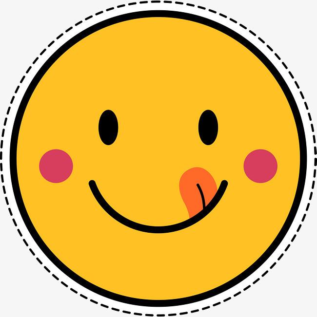 笑脸表情包卡通贴纸图片