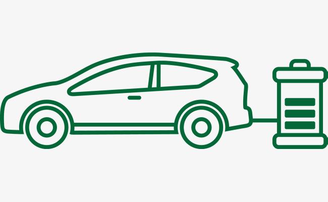 简易绿色节能汽车图png素材下载_高清图片png格式(:)