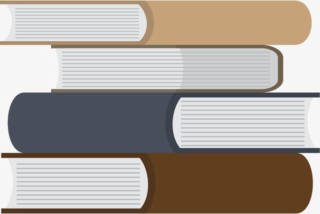 开学季叠放的书本素材图片免费下载_高清png_千库网