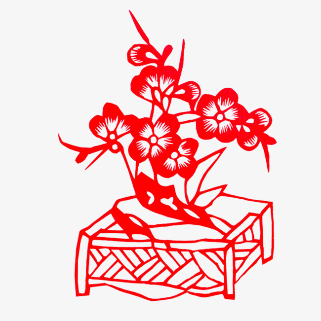 新年剪纸窗花 中国风创意礼物 新年快乐 喜庆剪纸 狗年剪纸 新年装饰图片