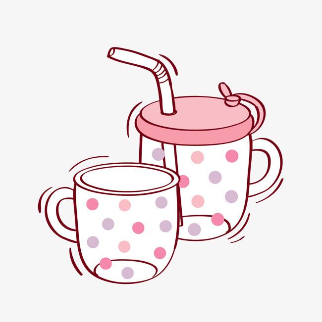 卡通可爱杯子免抠图png素材下载_高清图片png格式(:)