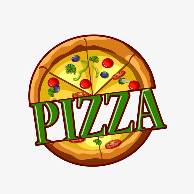 卡通披萨标签矢量图png素材下载_高清图片png格式(:)图片