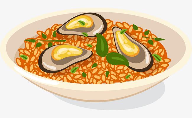香辣海鲜美食免抠素材