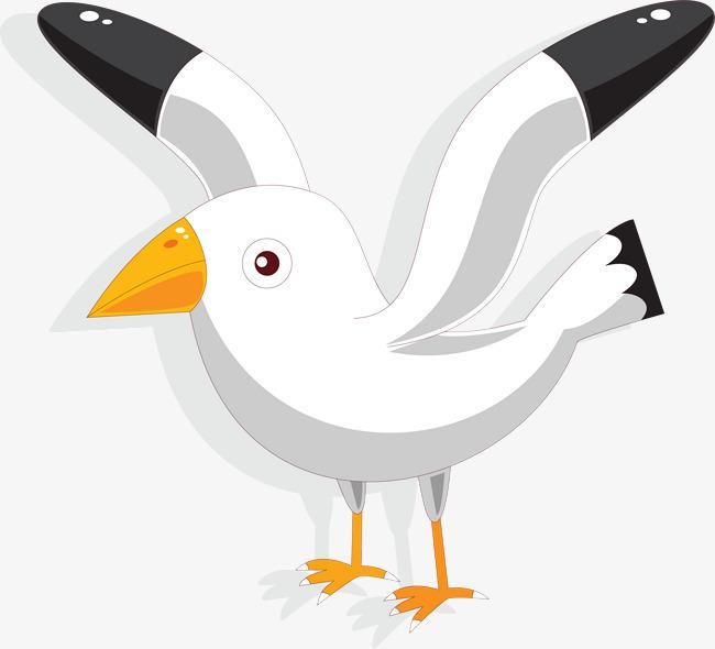 卡通可爱小动物装饰设计动物头像飞鸽图片