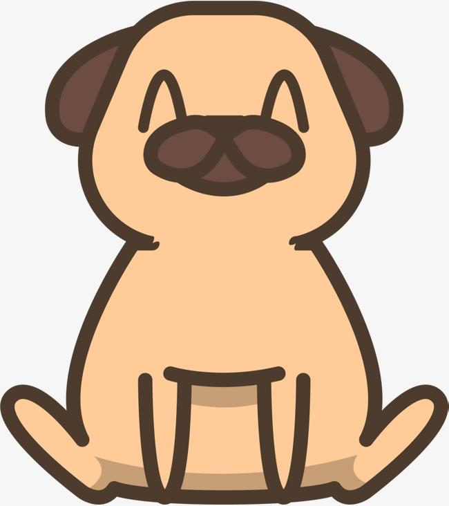 狗年呆萌卡通小狗
