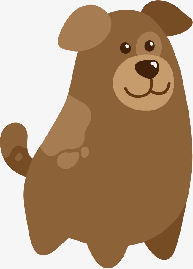 狗年可爱棕色小狗图片
