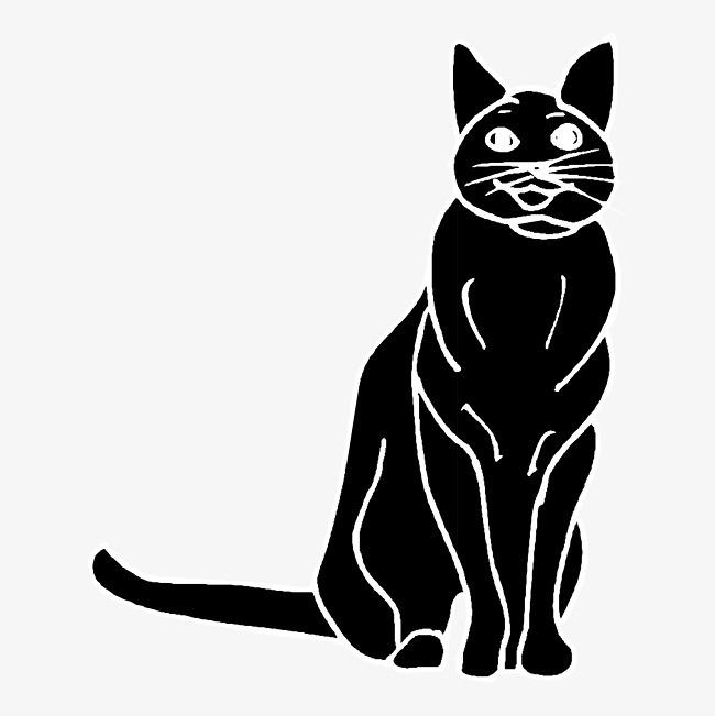 卡通可爱小动物装饰设计动物头像猫咪