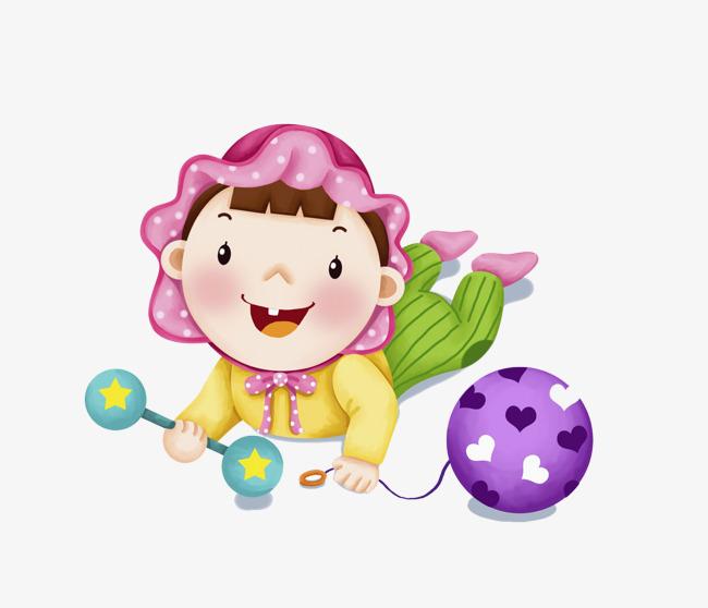 卡通玩玩具的孩子免抠图素材图片免费下载_高清png_千图片