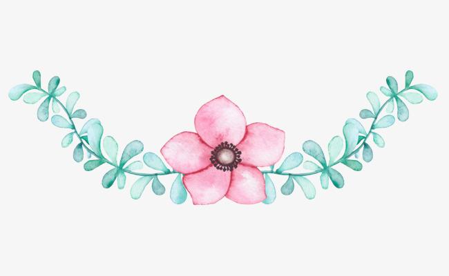 粉色装饰小清新花卉素材png素材下载_高清图片png格式图片