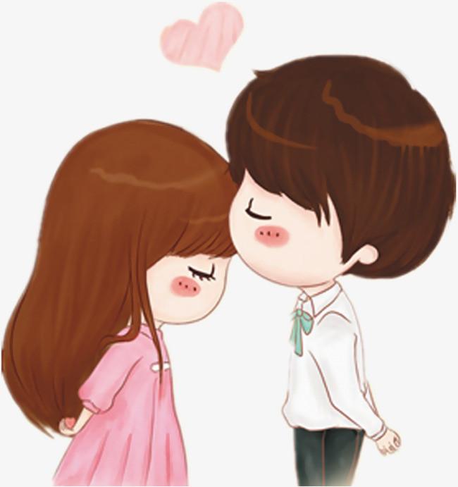 甜蜜情侶漫畫圖片