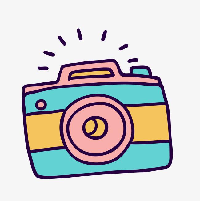 卡通彩色相机矢量图素材图片免费下载 高清psd 千库网 图片编号9956958