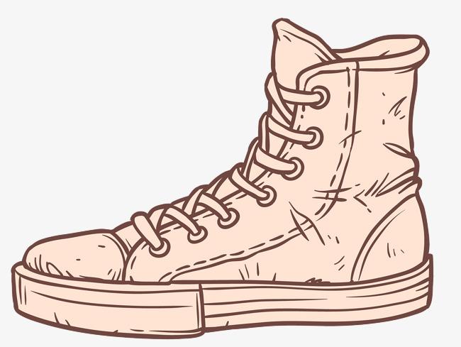 手绘高邦鞋子矢量下载高清鞋子png素材下载_高清图片