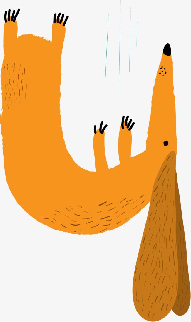 顺序数4卡通搞怪动物设计数字矢量素材