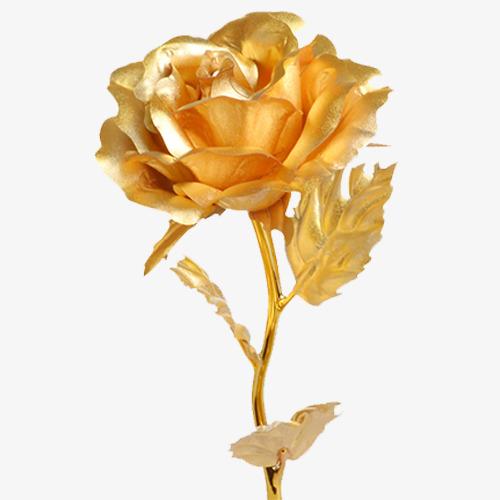 金色唯美装饰玫瑰花设计图图片