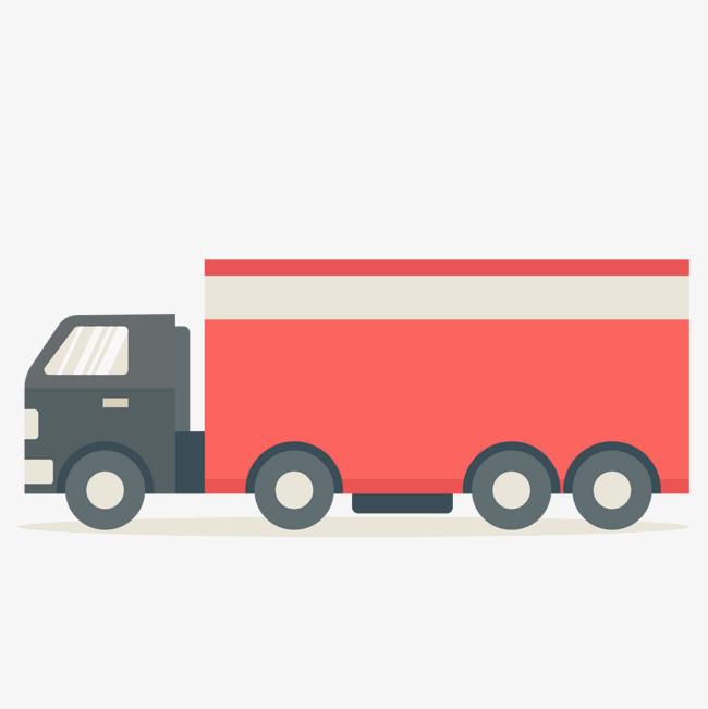 卡通货车车辆设计图片