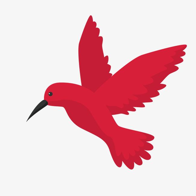 梦见红色飞鸟