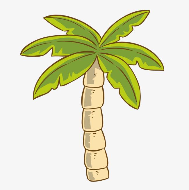 卡通手绘植物树木设计