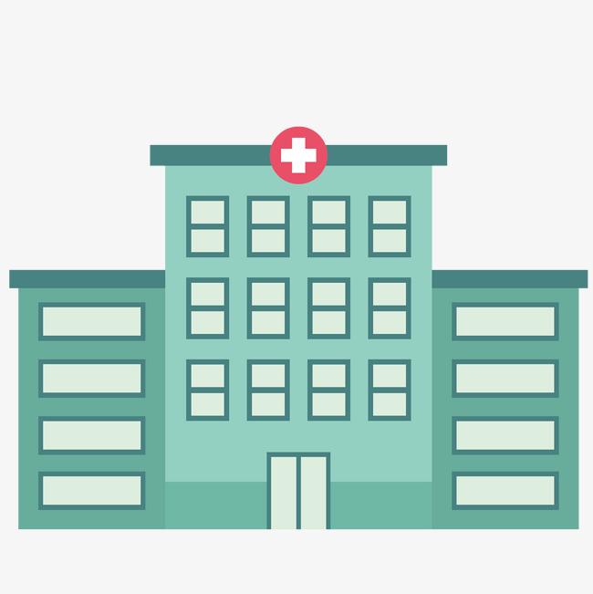医院大楼卡通图案图片
