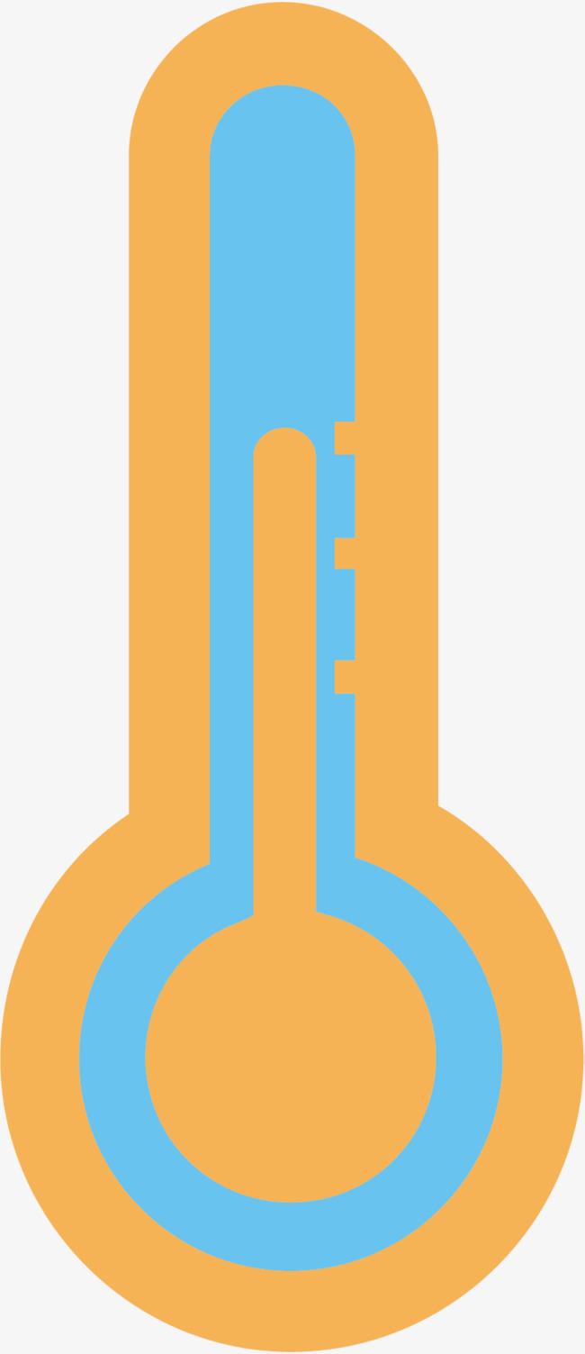 测量体温的卡通温度计图片