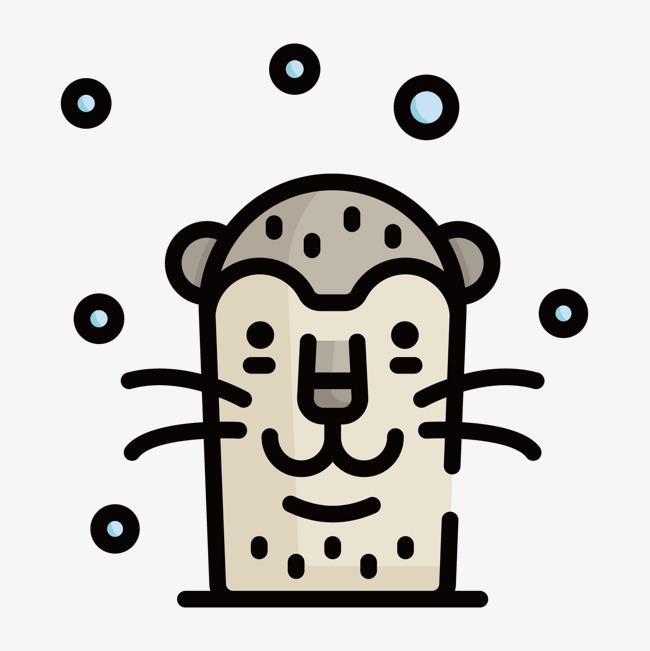扁平化地鼠png下载素材图片免费下载_高清psd_千库网