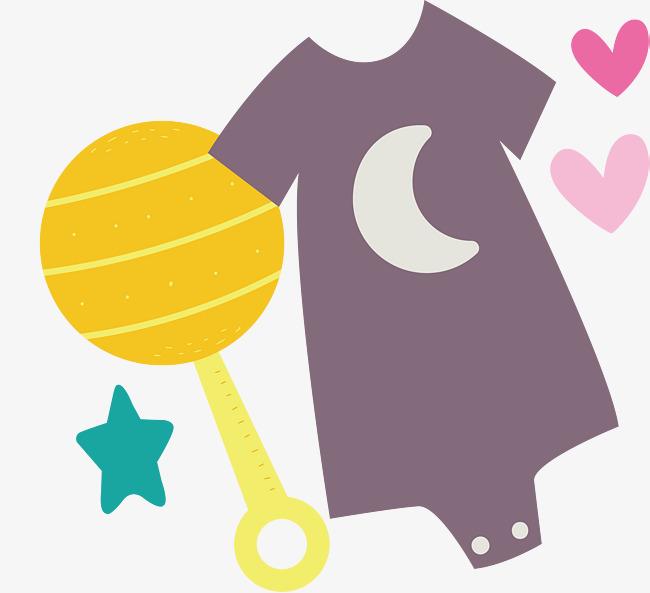 千库网 图片素材 连身裤玩具卡通可爱婴儿用品设计  连身裤玩具卡通