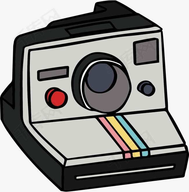 矢量手绘创意照相机素材图片免费下载 高清psd 千库网 图片编号10173897