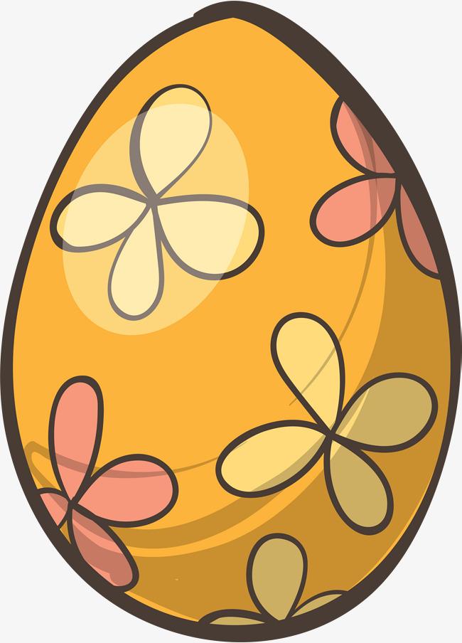 复活节手绘花朵彩蛋素材图片免费下载 高清png 千库网 图片编号10188846