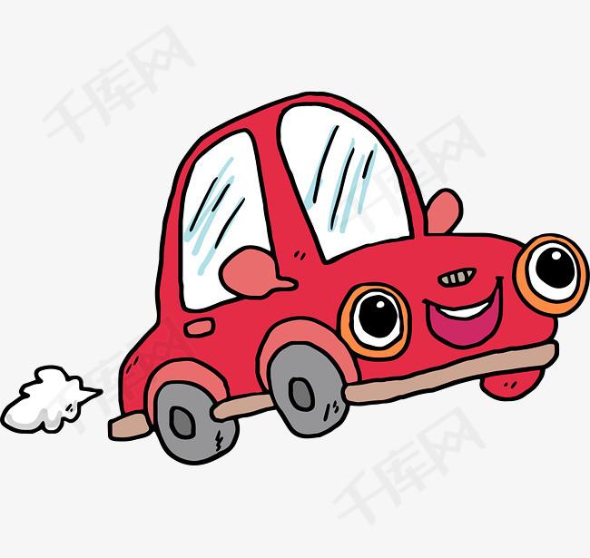 卡通简约手绘交通工具装饰汽车素材图片免费下载 高清png 千库网 图片编号10205384
