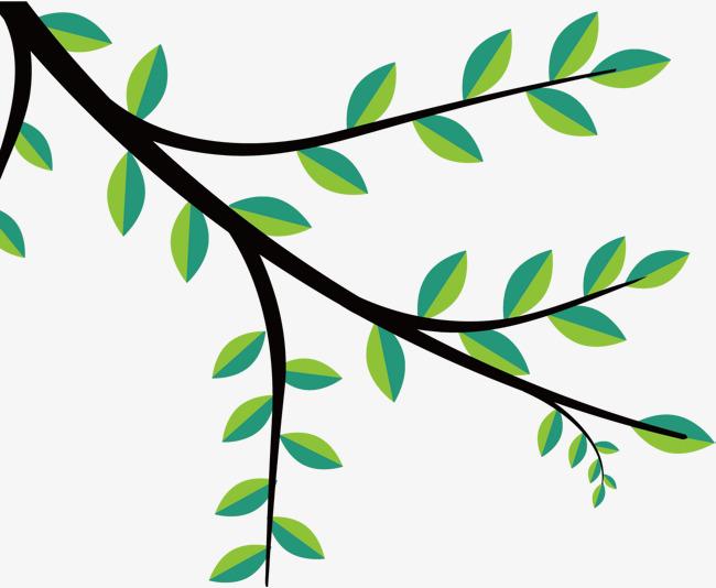 矢量图店铺树枝面具树叶水彩vi设计图图片