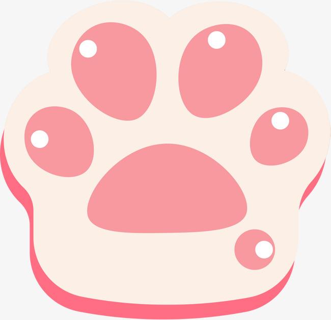 扁平化猫爪png下载素材图片免费下载_高清psd_千库网