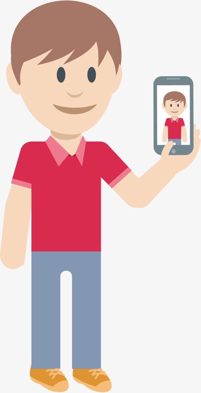 千库网提供手机健身手绘小人矢量免抠png素材