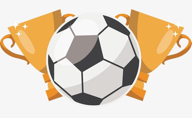 创意足球世界杯足球主题矢量素材