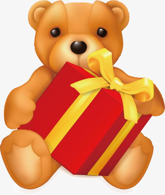 玩具熊卡通设计素材图片免费下载_高清psd_千库网