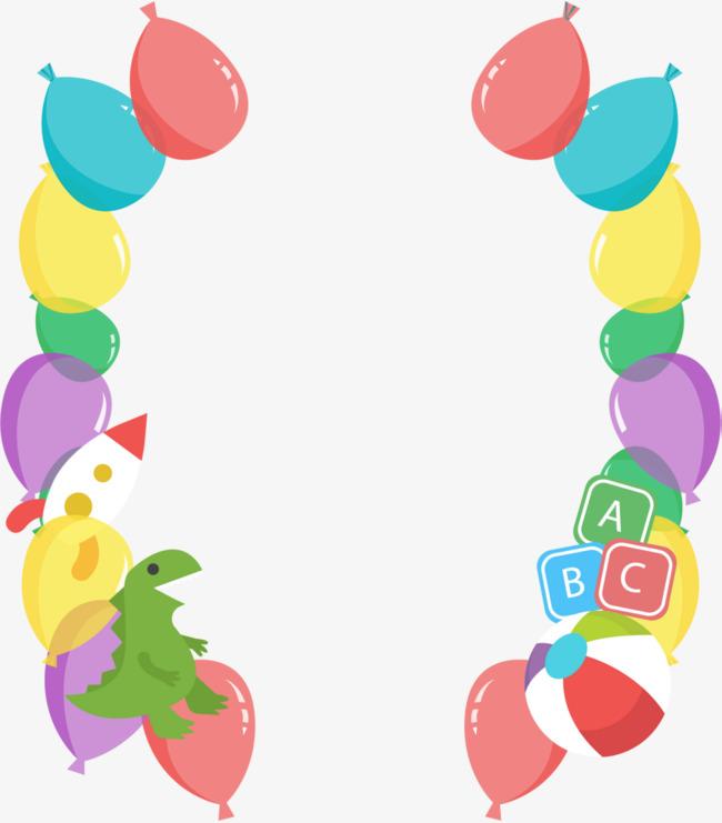 儿童节玩具气球装饰素材图片免费下载_高清png_千库网