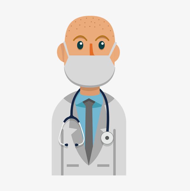 医生戴口罩png下载图片