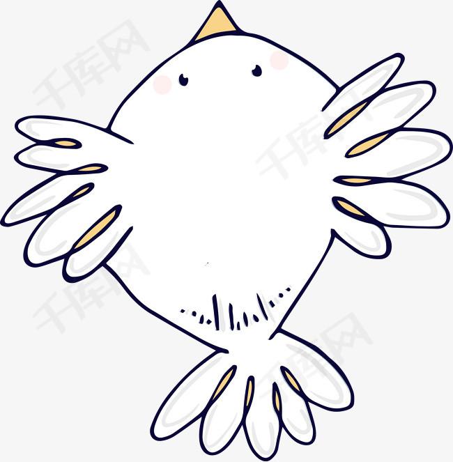 飞翔的小鸟卡通图图片