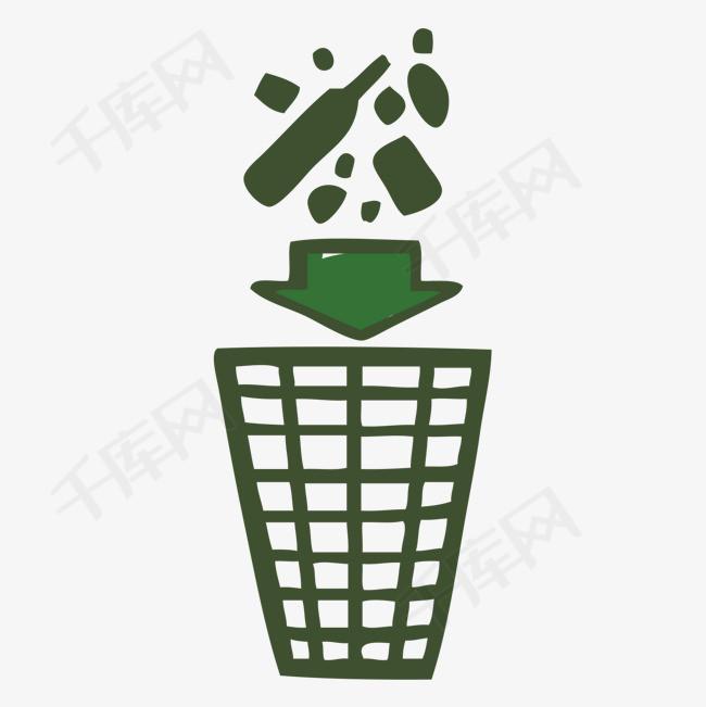 千库网 图片素材 世界环境日垃圾环保分类免抠png