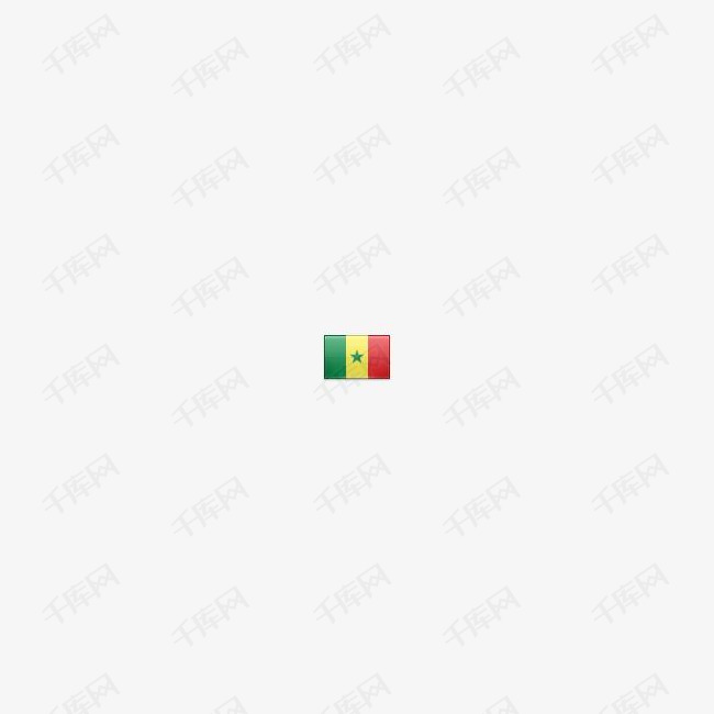 塞内加尔国旗图标