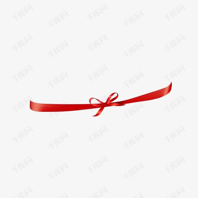 红丝带蝴蝶结