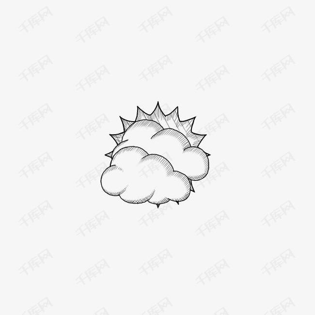 乌云遮住阳光
