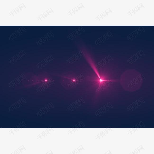 粉红色光环