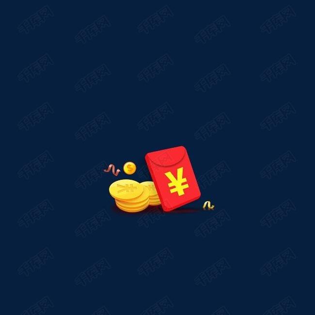 新年装饰金币红包