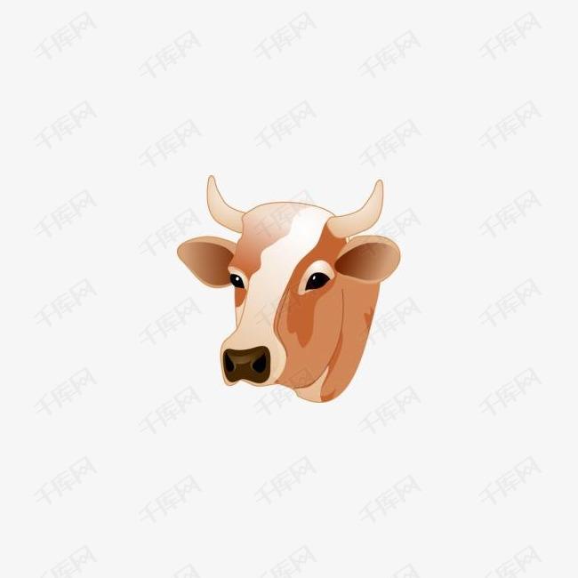 牛的头图标