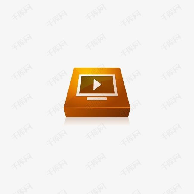 Adobe媒体播放器图标