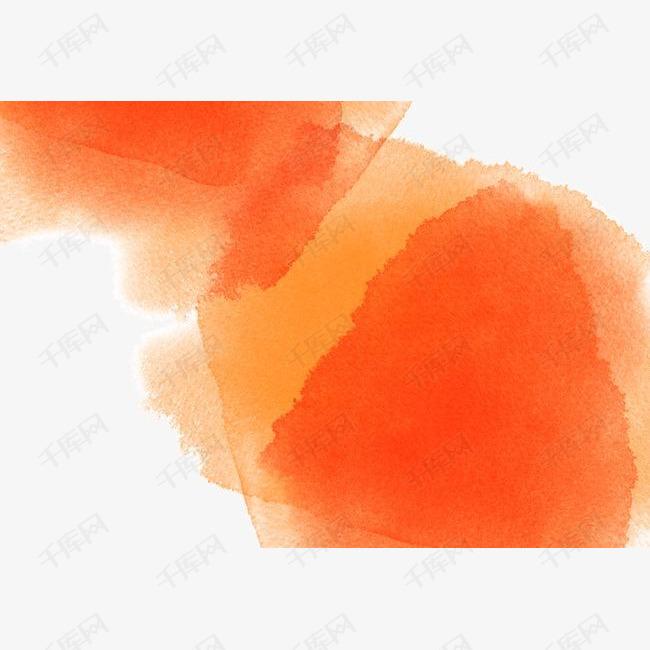 韩国彩色墨迹创意