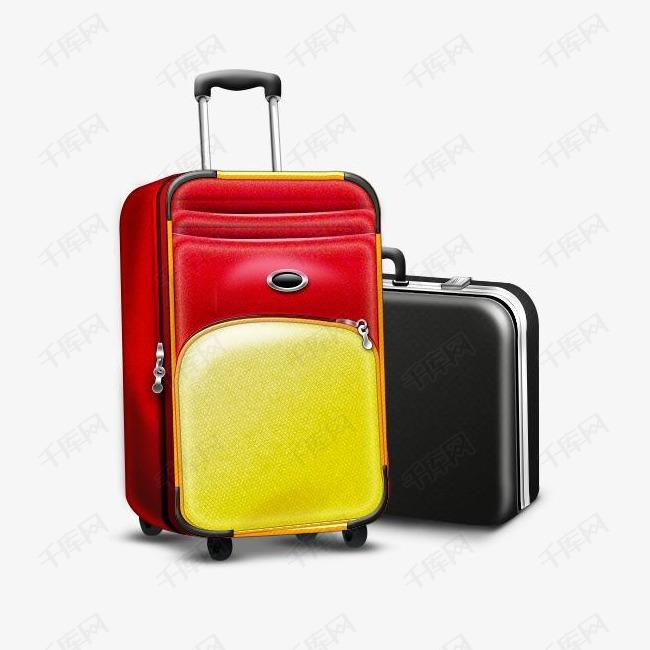 手提箱旅行和度假