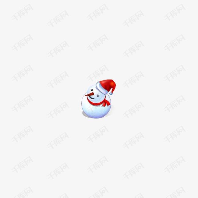 圣诞节雪人圣诞节