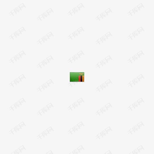 赞比亚国旗图标